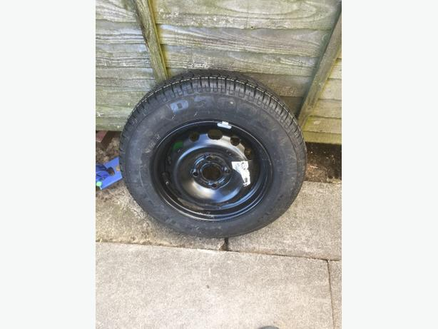 steel wheel and tyre