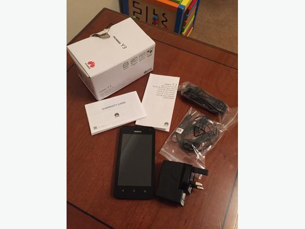 Huawei Y3 Black *Unlocked*