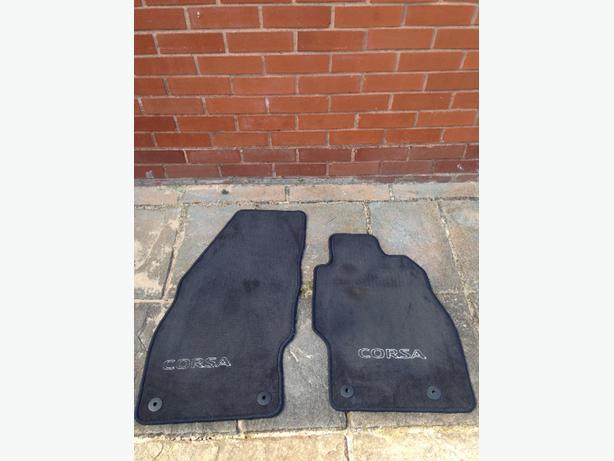 Vauxhall Corsa Floor mats