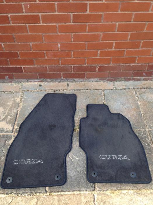 vauxhall corsa floor mats brierley hill dudley. Black Bedroom Furniture Sets. Home Design Ideas