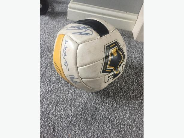 signed wolves ball