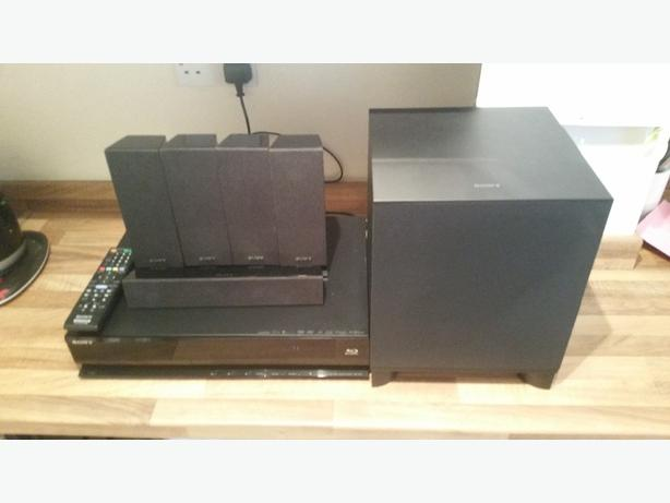 SONY BLU-RAY HOME THEATER SYSTEM 850W
