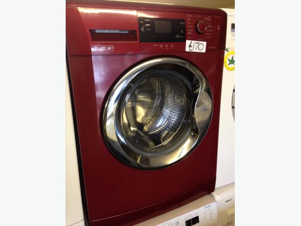RED BEKO WASHING MACHINE067