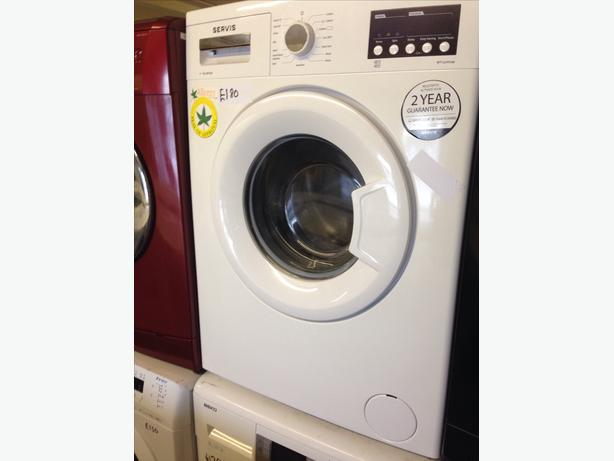 GRADED SERVIS WASHING MACHINE 1200 SPIN054