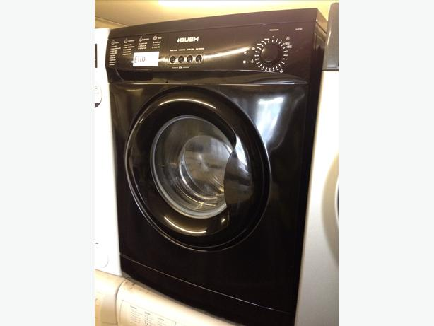 6KG BLACK BUSH WASHING MACHINE032