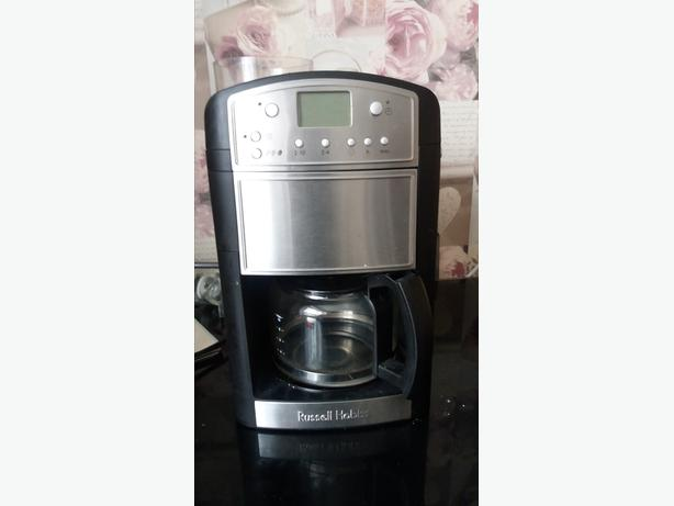 Russell Hobbs 14899 Platinum Grind And Brew Filter Coffee Machine with Timer