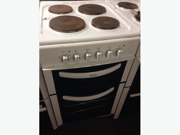 50CM BELLING DOUBLE OVEN ELECTRIC COOKER04