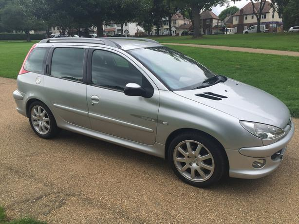PEUGEOT 206 SW QUICKSILVER 2.0 HDI **LOW MILEAGE**