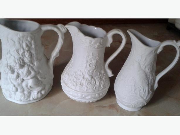 3 portmerion partan creamer jugs