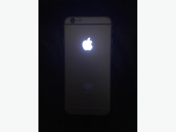 iphone 6 64GB unlocked with box and glowing apple logo