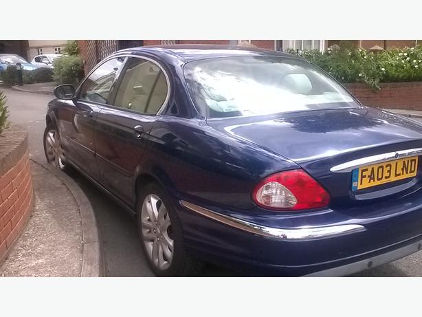 jaguar 2.0 x tpye blue  5 door 2003 mint condition 2003