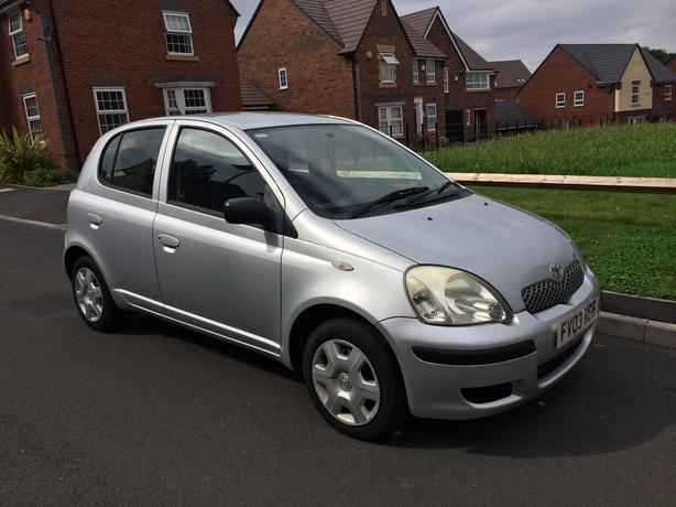 2003 TOYOTA YARIS 1.4 D4D 5 DOOR £30 YEAR TAX TURBO DIESEL LIKE CORSA MICRA CLIO