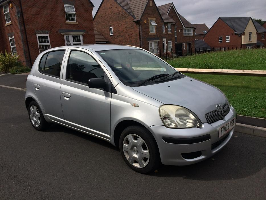 2003 toyota yaris 1 4 d4d 5 door 30 year tax turbo diesel like corsa micra clio smethwick. Black Bedroom Furniture Sets. Home Design Ideas