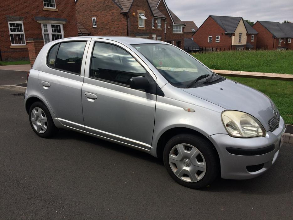 2003 toyota yaris 1 4 d4d 5 door 30 year tax turbo diesel like corsa micra clio smethwick sandwell. Black Bedroom Furniture Sets. Home Design Ideas