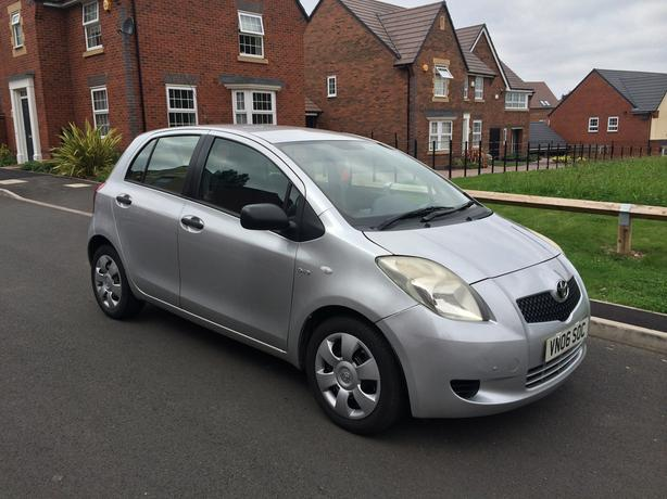 2006 TOYOTA YARIS 1.4 D4D 5 DOOR 0 OWNER FROM NEW LOW MILES , CORSA MICRA