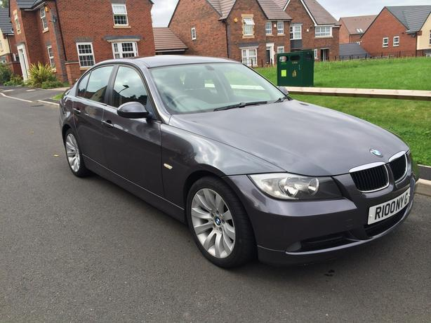 2005 bmw 320d gunmetal grey e90 2 owners 17 alloys 330d. Black Bedroom Furniture Sets. Home Design Ideas