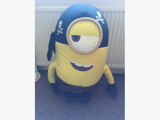 large teddy minion pirate