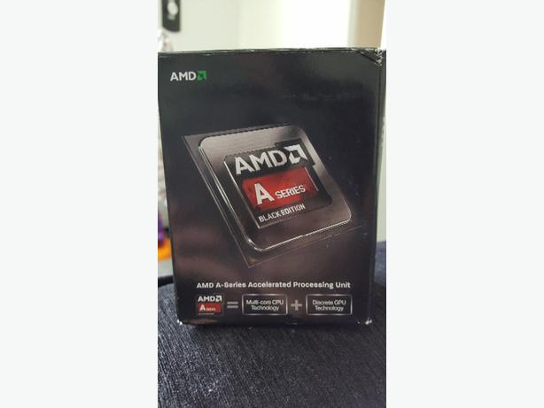 AMD A6 6400k 3.9ghz dual core processor black edition