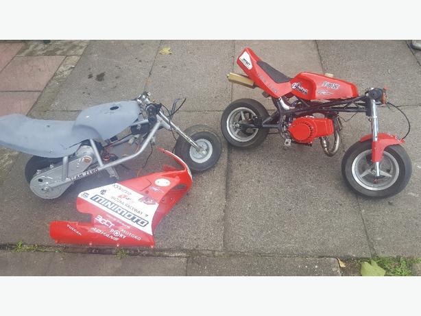 x2 mini motos
