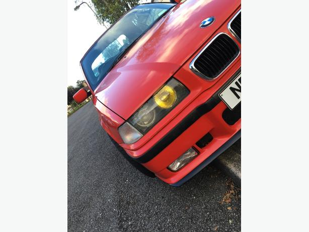 classic  bmw e36 convertible 2.8 straight six