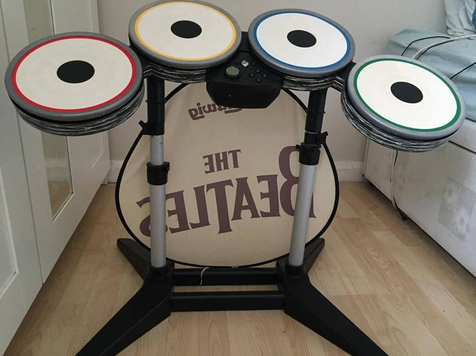 wii drum set instructions