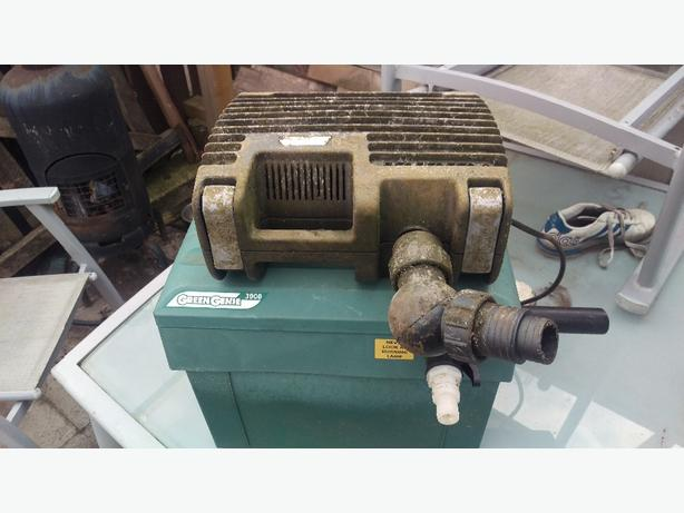 Pond filter and pump tipton dudley for Used pond filters and pumps