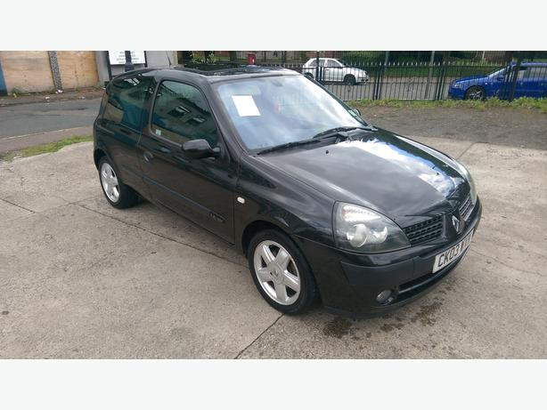 RENAULT CLIO 1,4 PETROL MOT JUNE  sorry now sold
