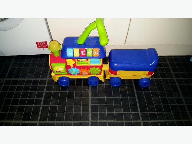 childs train