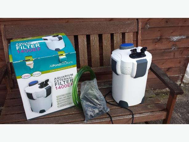 All pond solutions 1400ef canister filter