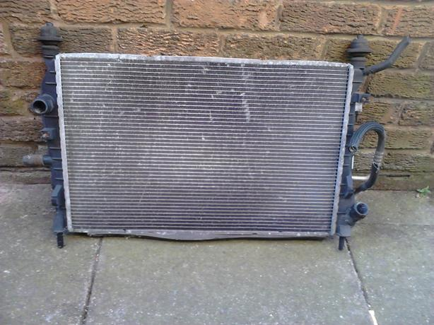 FORD MONDEO MK3 2.0 tdci COOLING RADIATOR AND AIR CON RAD