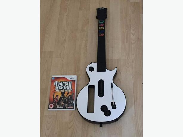 Wii Guitar Hero 3 Legends Of Rock