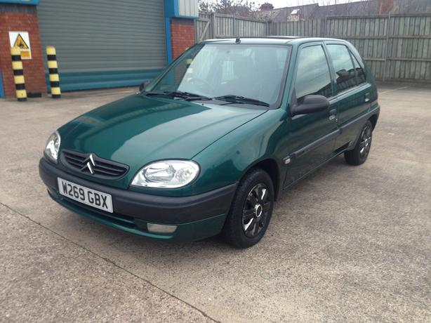 Automatic Saxo 1.4 long mot, very low mileage with 58000