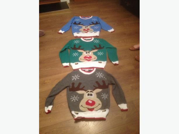 Christmas Jumpers £5 or 3 for £10
