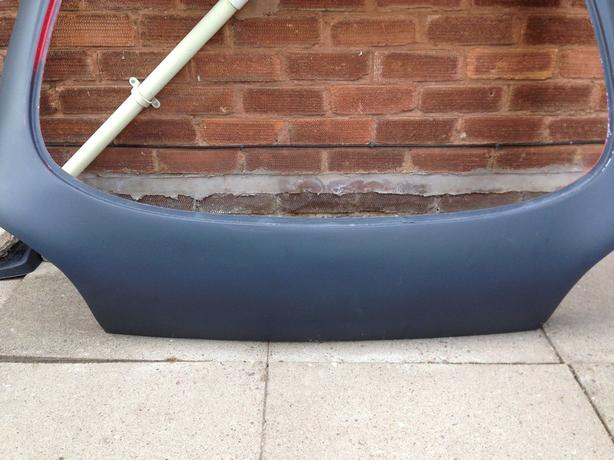 Fiesta MK4/5 Smoothed Boot lid