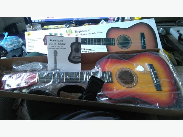 "Childs 30"" sunrise acoustic guitar"