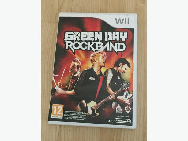 wii rock band green day