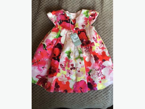 Little John Rocha Dress 3-6 mths (new with tags)