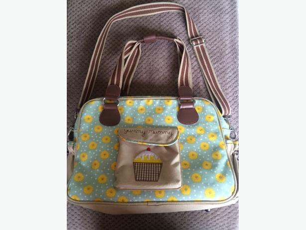 Pink Lining Yummy Mummy Sunflower Changing Bag