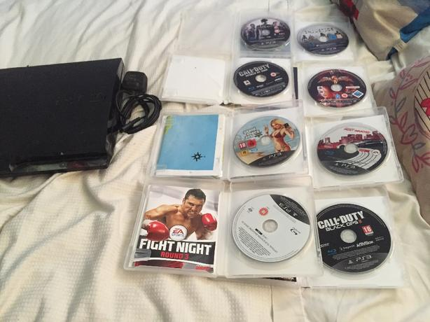ps3 for sale with games