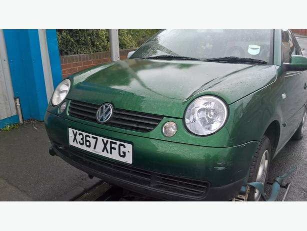 vw lupo parts 2000./ 2004 GREEN AND BLACK