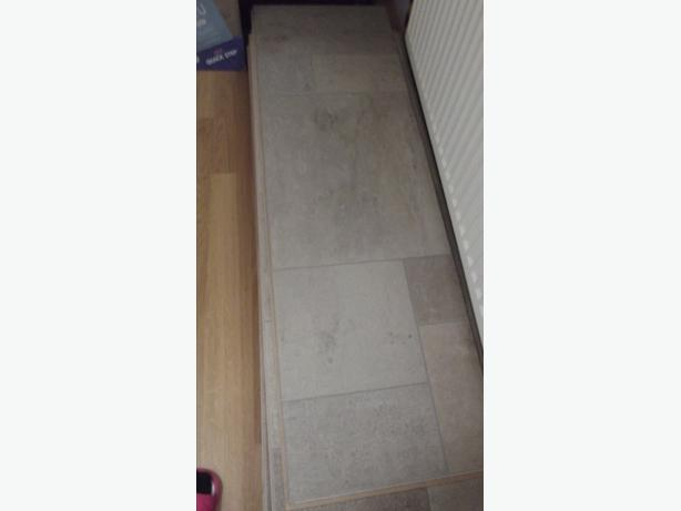 laminate kitchen/bathroom flooring
