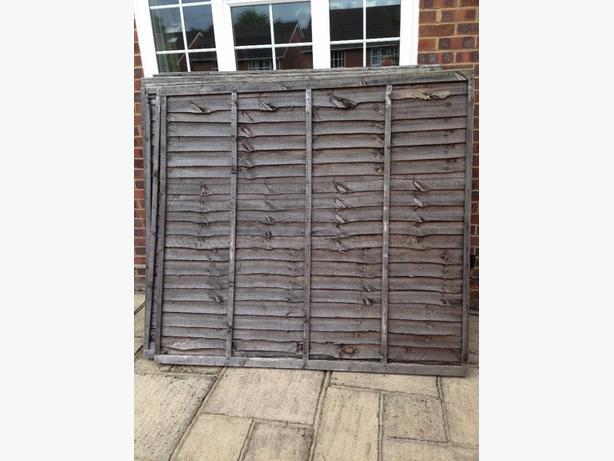6x5 Fence Panels