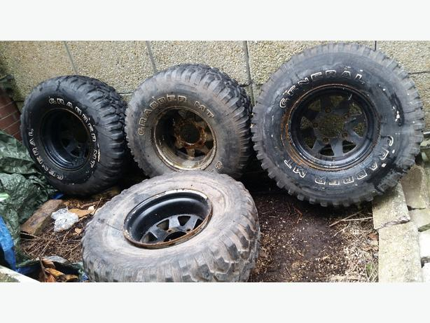4 x landrover defender /discovery wheels