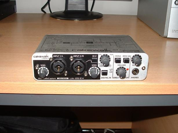 Roland Cakewalk UA-25 EX USB Audio Capture