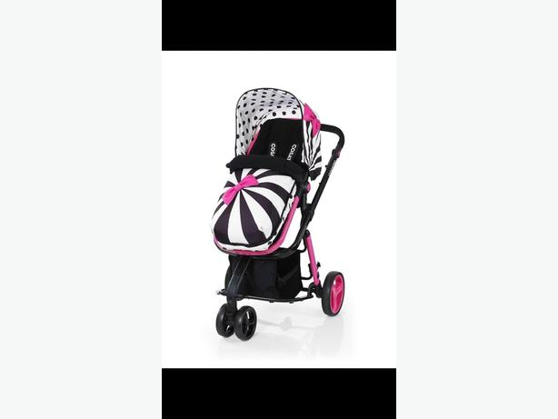 Reduced giggle 2 pushchair! very girly