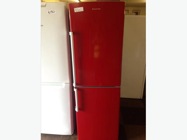 RED RUSSELL HOBBS FRIDGE FREEZER10