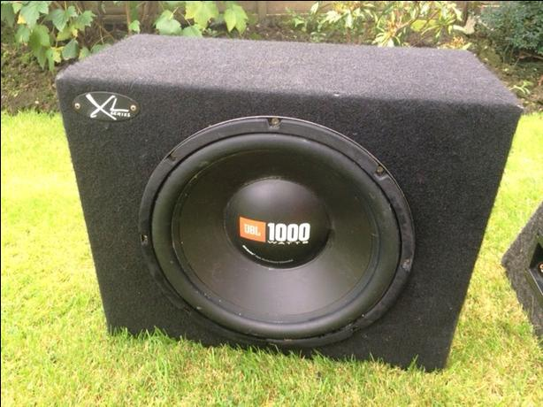 XL Series UBL 1000watt speaker