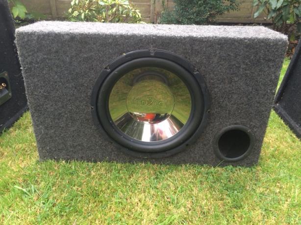 Toxic Car speaker