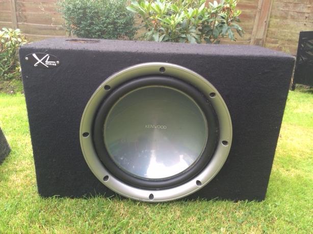 Kenwood XL speaker