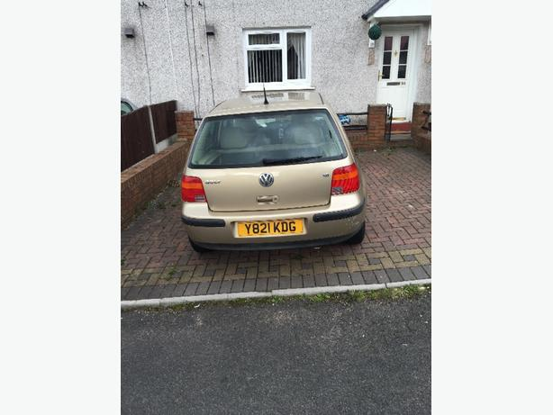 volkswagen golf 1.6 AUTOMATIC spares snd repairs